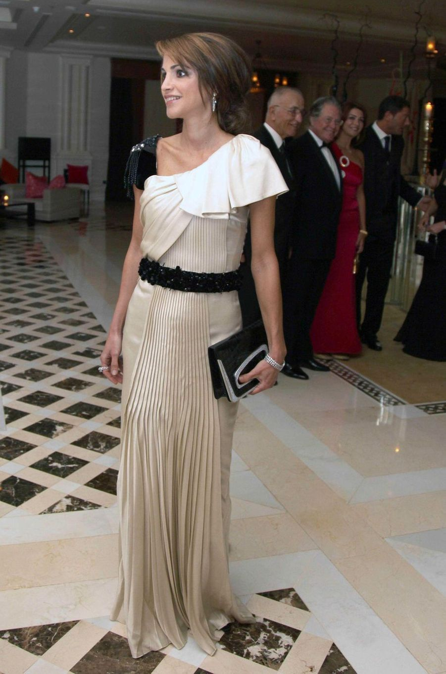 La reine Rania de Jordanie en Jordanie, le 25 novembre 2010