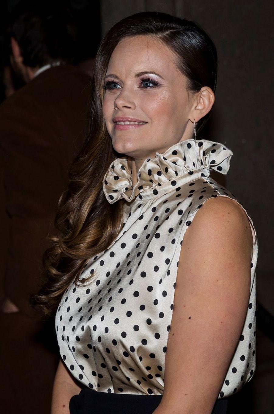 La princesse Sofia de Suède à Stockholm, le 20 octobre 2017