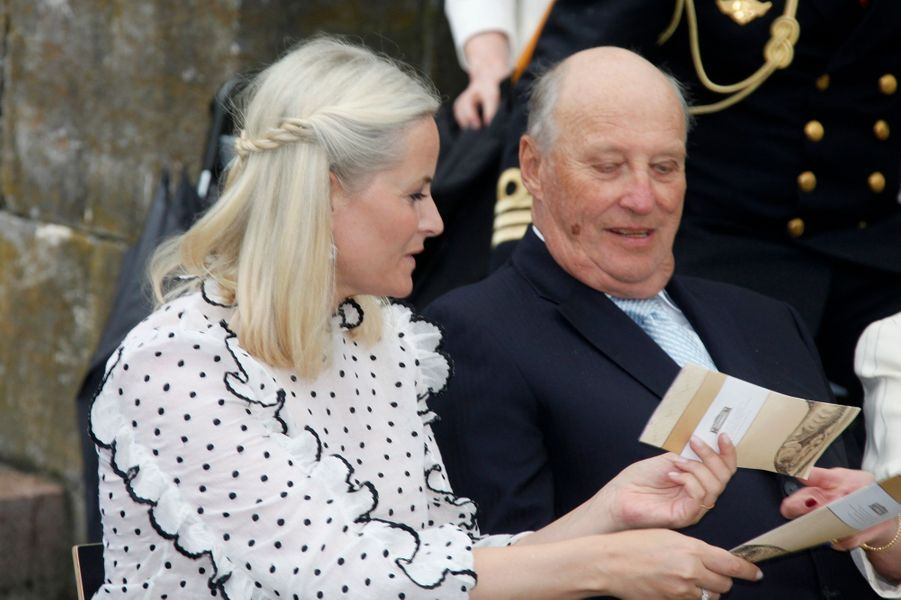 La princesse Mette-Marit de Norvège à Oslo, le 7 juin 2016