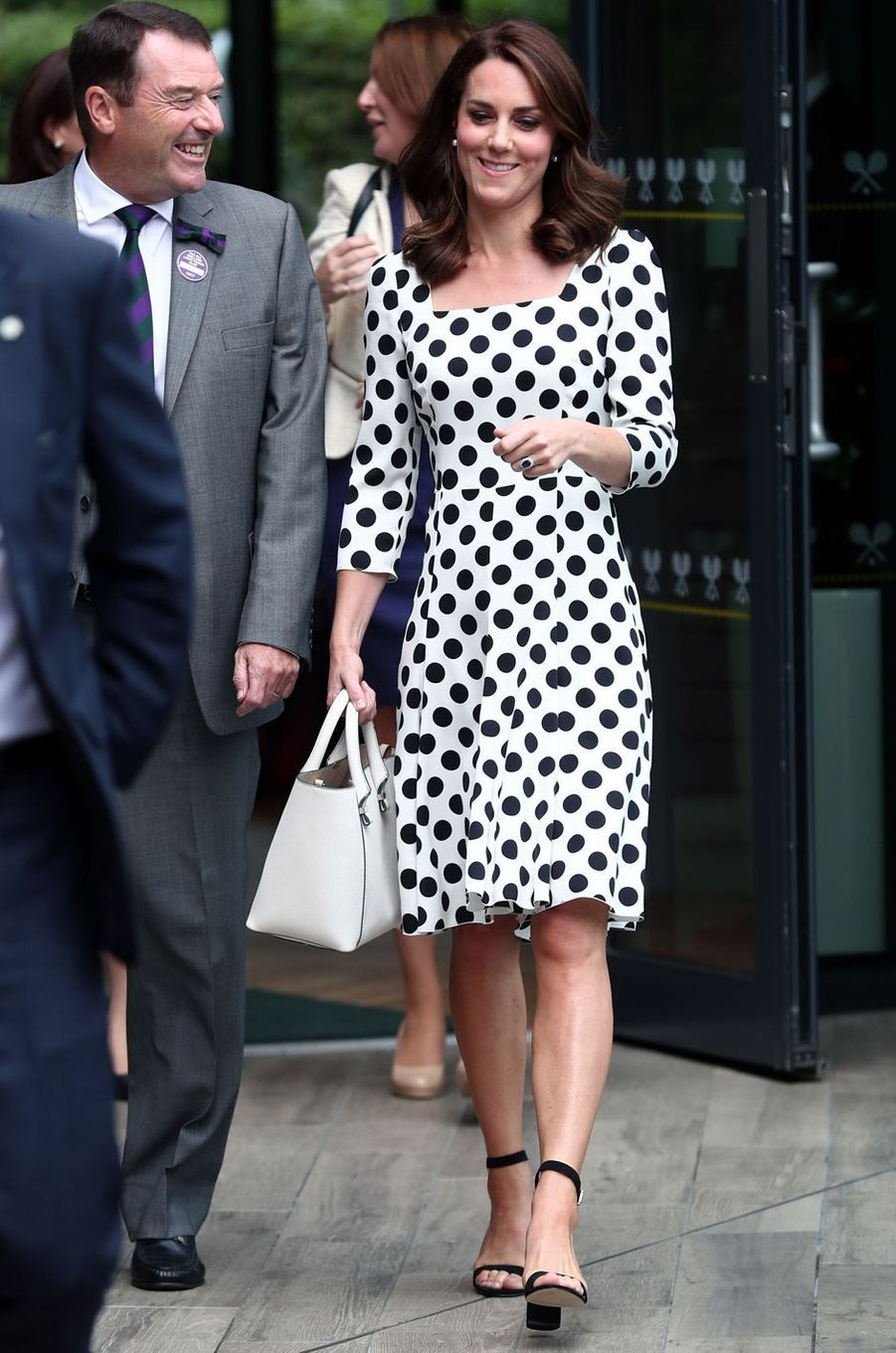Kate Middleton, duchesse de Cambridge, à Londres, le 3 juillet 2017