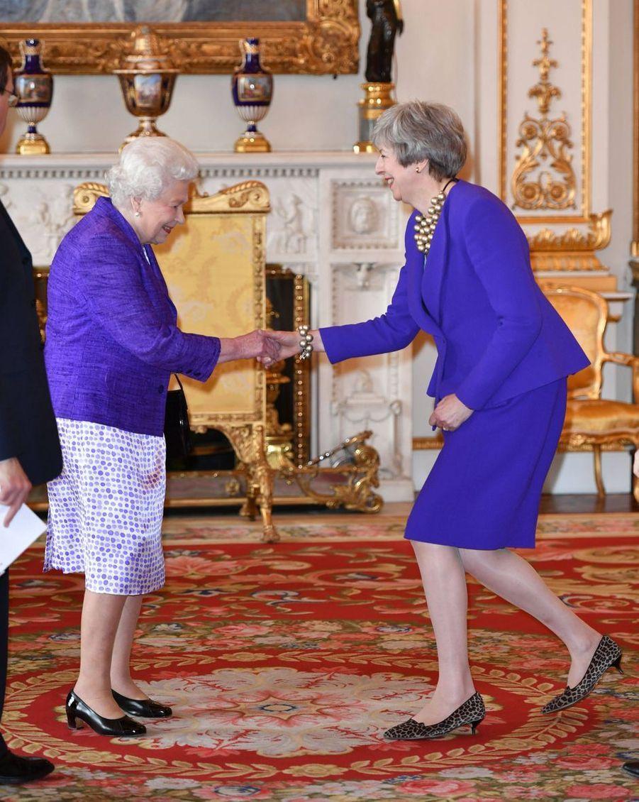 La reine Elizabeth II à Londres, le 5 mars 2019