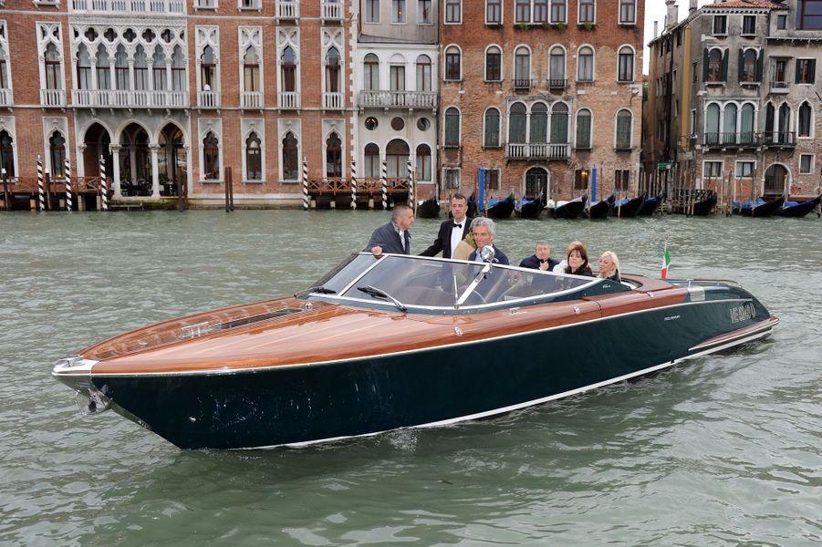 La princesse Caroline de Monaco à Venise, le 28 avril 2011