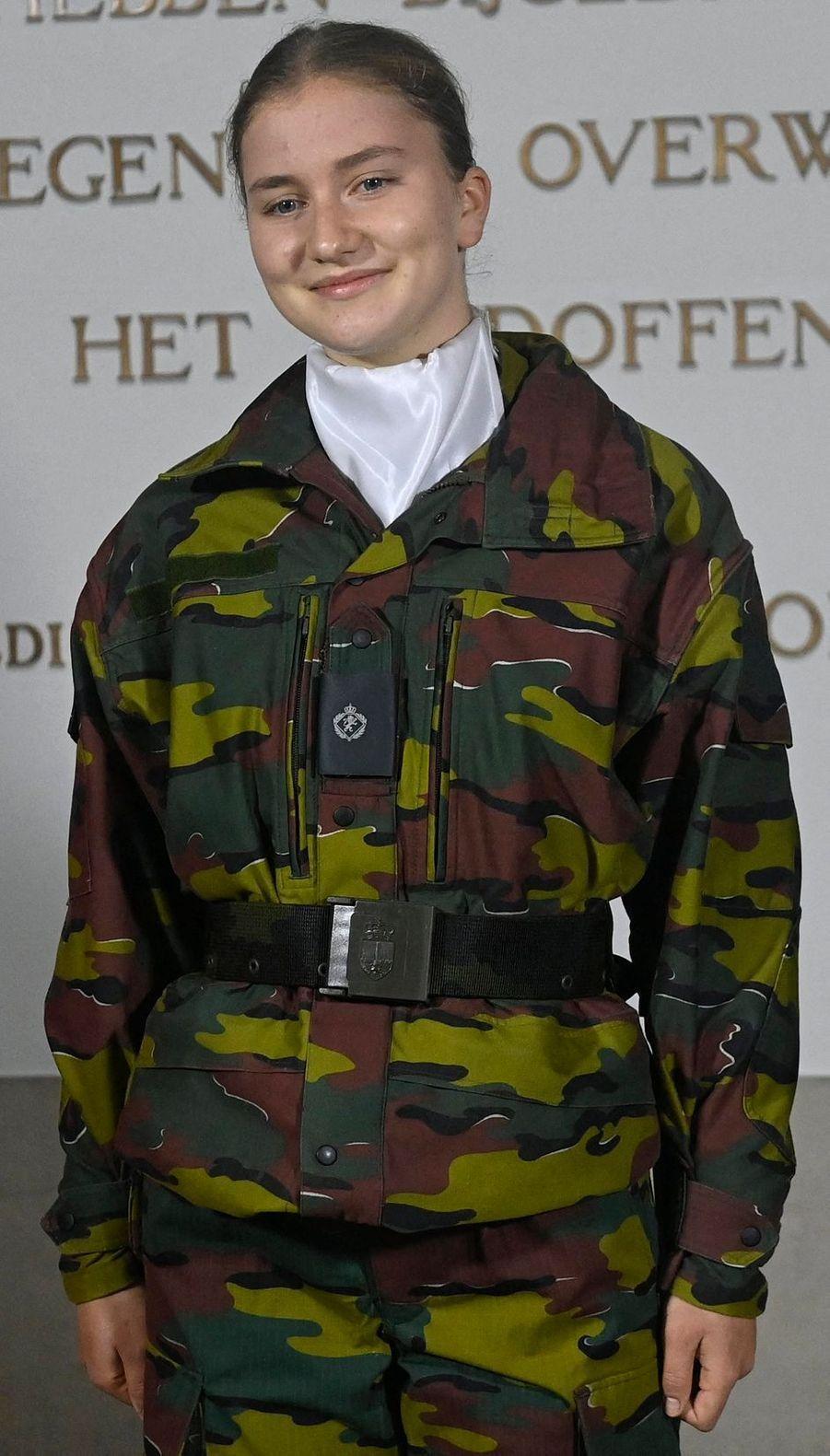 La princesse Elisabeth de Belgique, le 8 octobre 2020