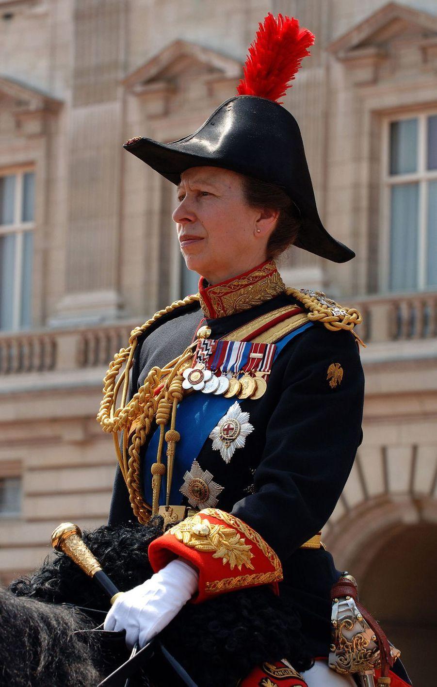 La princesse Anne d'Angleterre, le 17 juin 2006