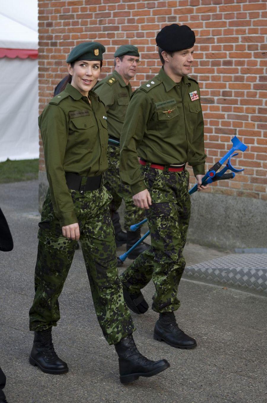 La princesse Mary de Danemark, le 1er avril 2009