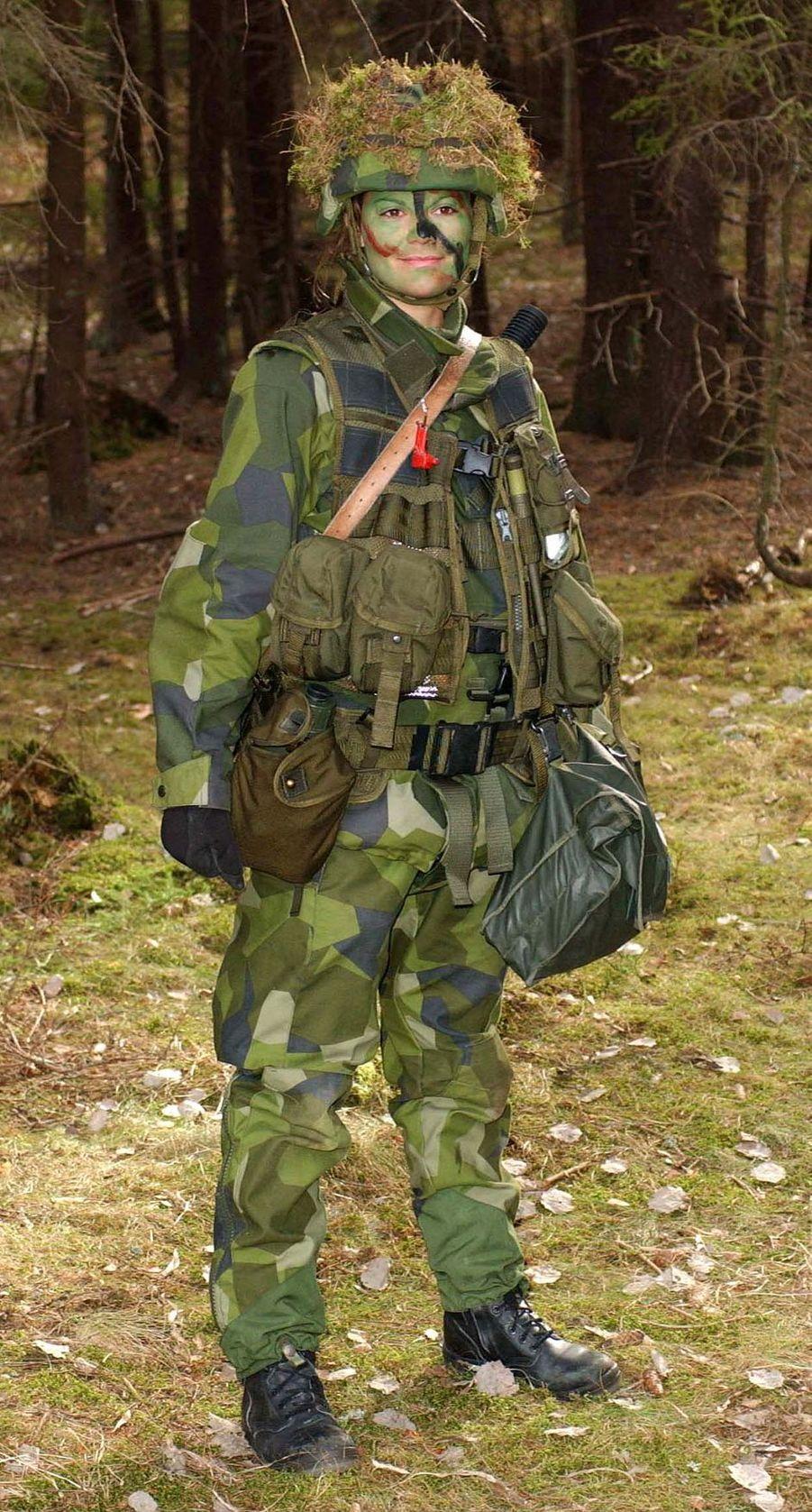 La princesse héritière Victoria de Suède, le 18 mars 2003
