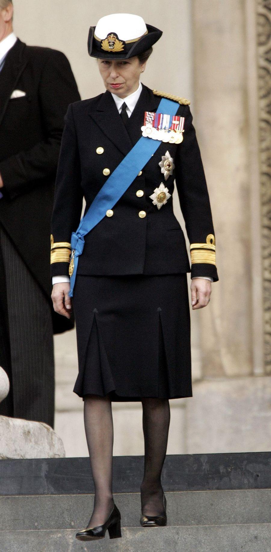 La princesse Anne d'Angleterre, le 23 octobre 2005