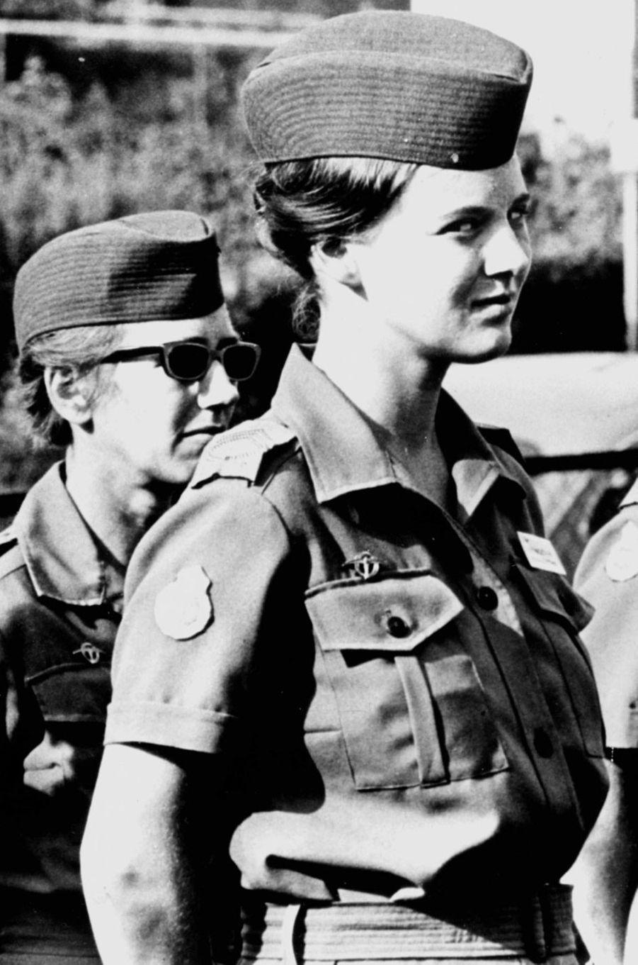 La princesse Margrethe de Danemark (futur reine Margrethe II), le 16 avril 1966