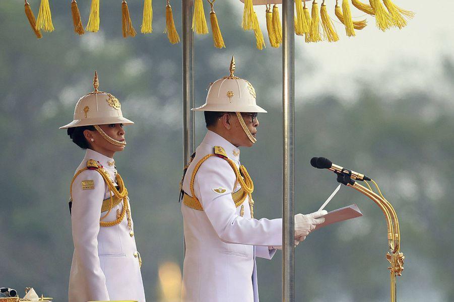 La reine Suthida de Thaïlande, le 18 janvier 2020