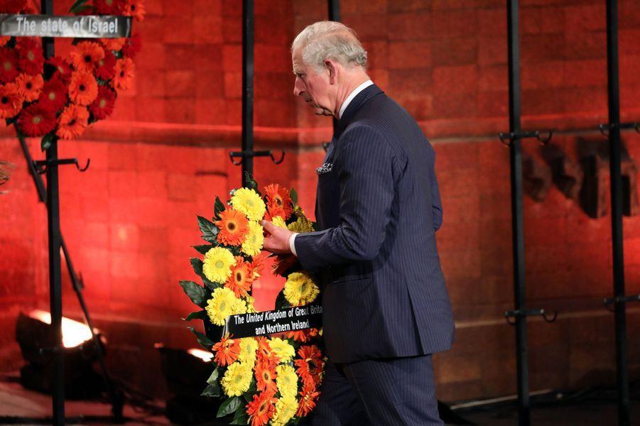 Le prince Charles à Jérusalem, le 23 janvier 2020