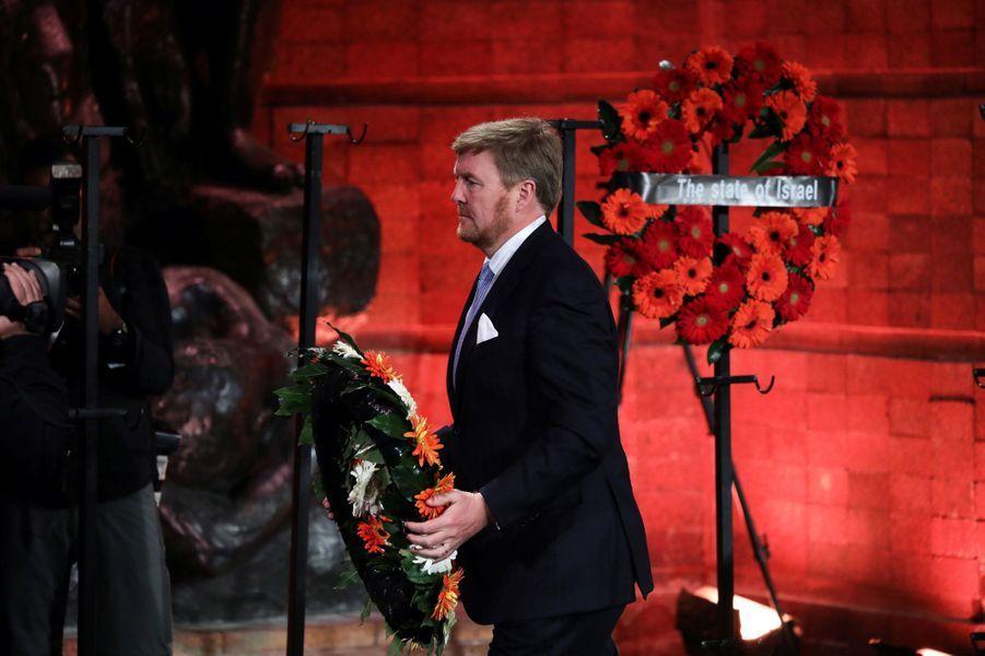 Le roi Willem-Alexander des Pays-Bas à Jérusalem, le 23 janvier 2020