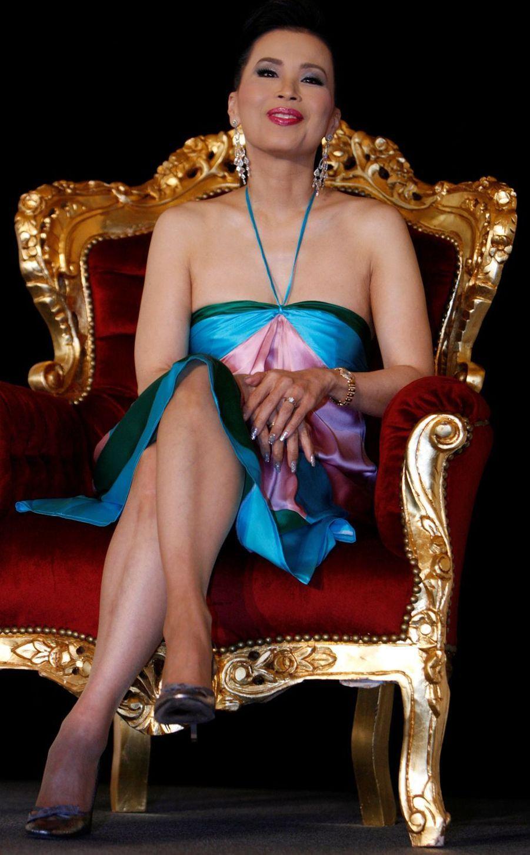 La princesse Ubolratana de Thaïlande au Festival de Cannes, le 15 mai 2008