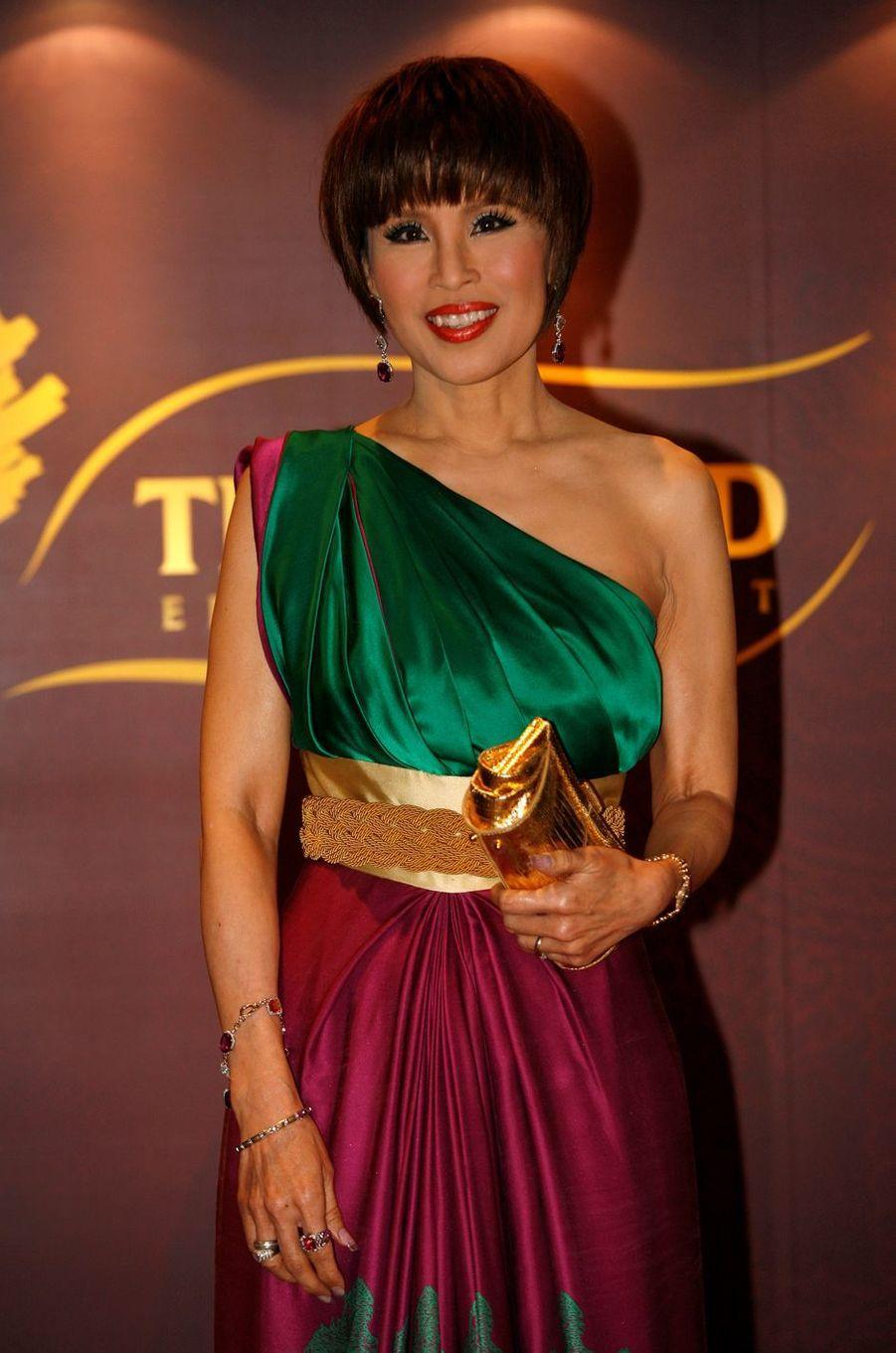 La princesse Ubolratana de Thaïlande à Hong Kong, le 24 mars 2010
