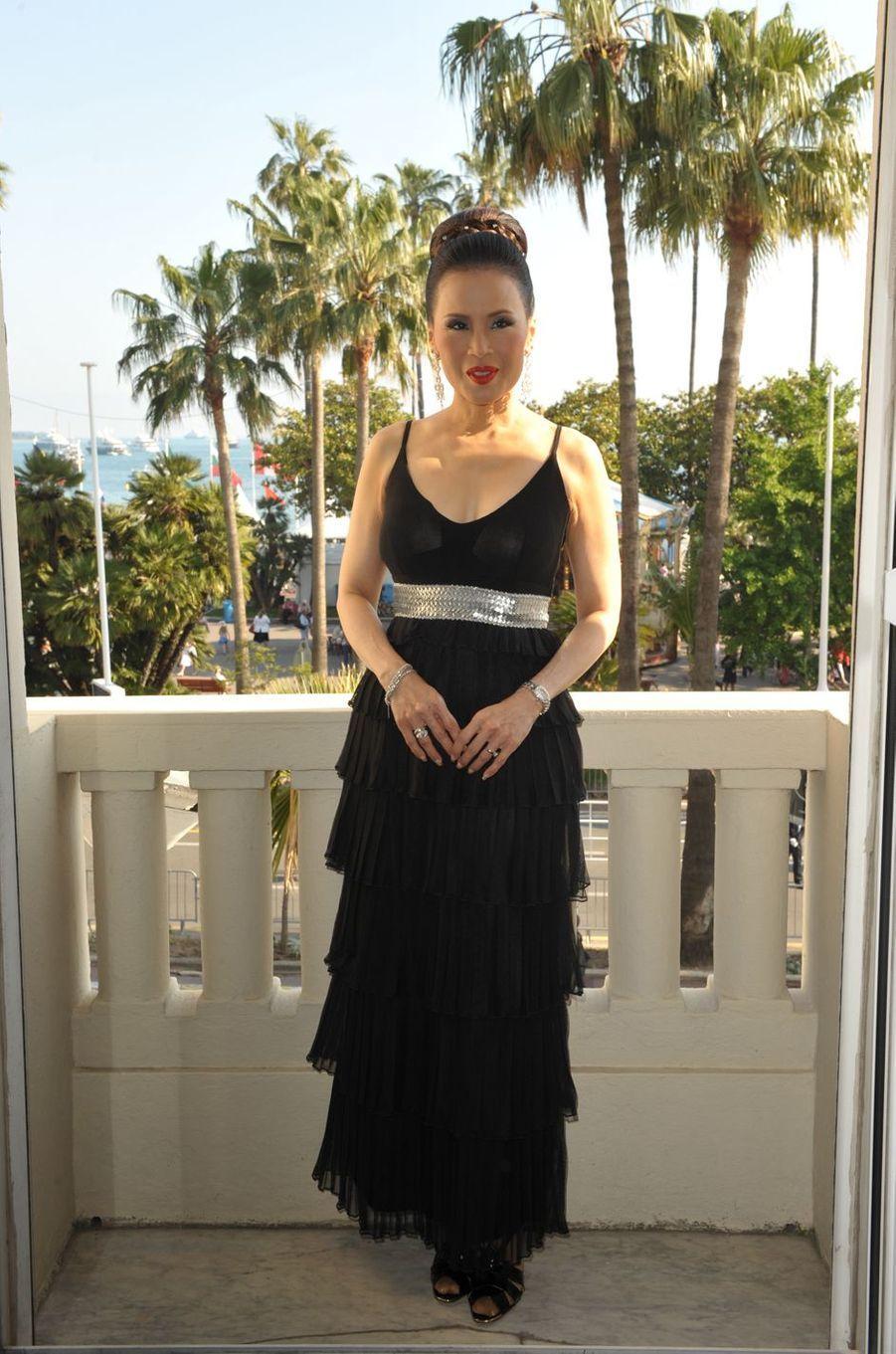 La princesse Ubolratana de Thaïlande au Festival de Cannes, le 19 mai 2009