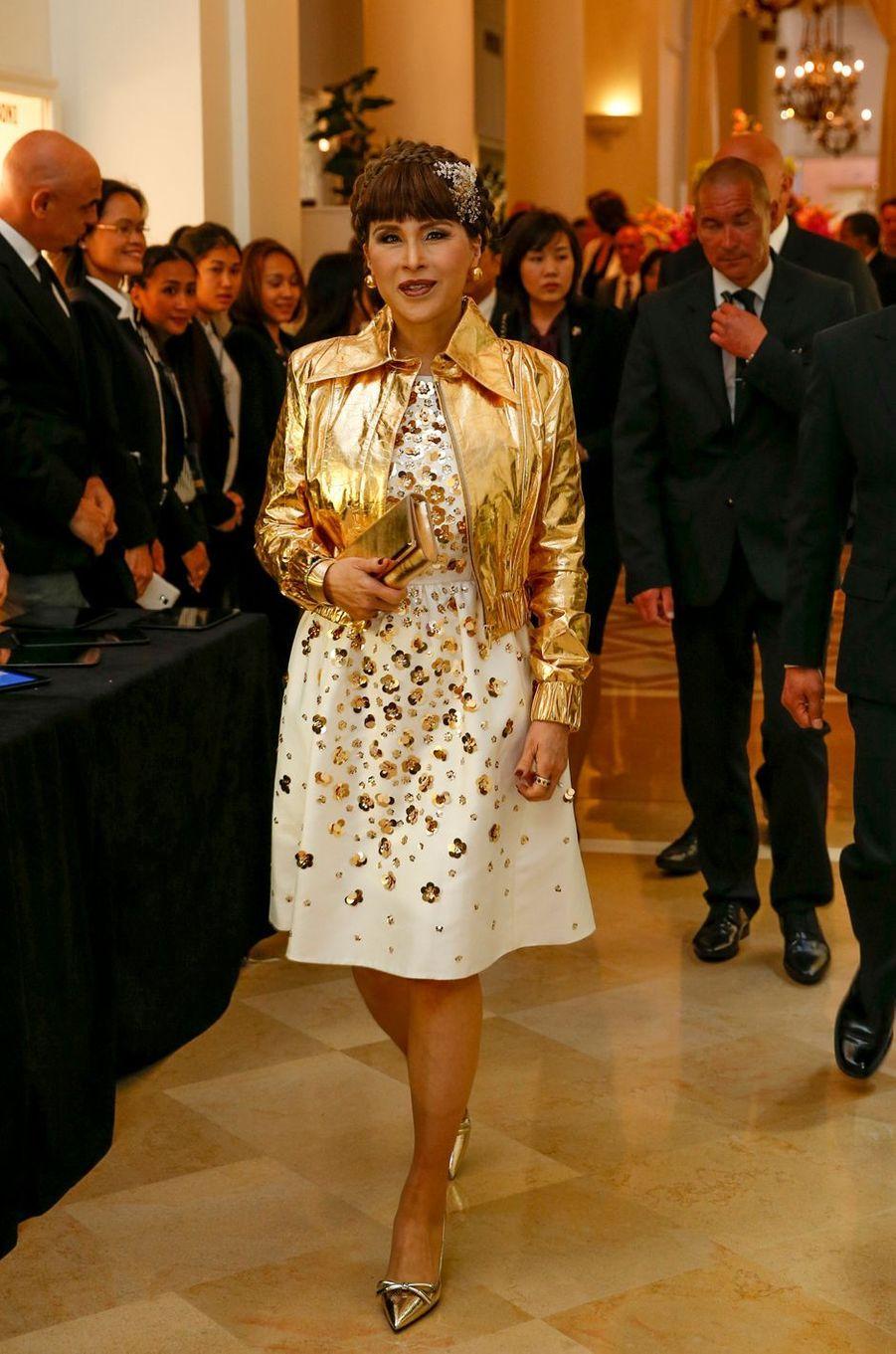 La princesse Ubolratana de Thaïlande au Festival de Cannes, le 14 mai 2016