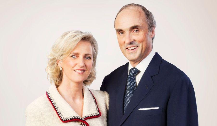 L.A.R. la Princesse Astrid et le Prince Lorenz de Belgique