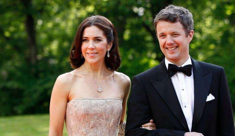 L.A.R. le Prince Frédérik et la Princesse Mary du Danemark