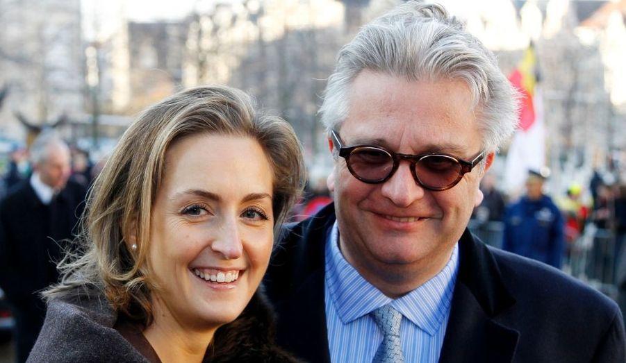L.A.R. le Prince Laurent et la Princesse Claire de Belgique