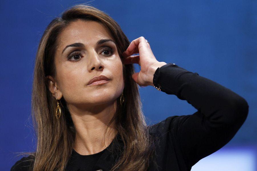La reine Rania à la Clinton Global Initiative en 2010