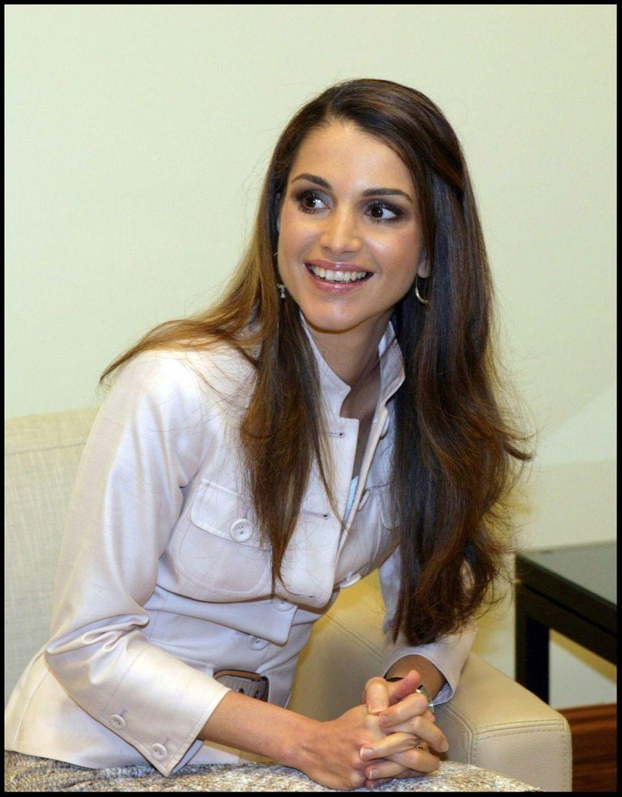 La reine Rania en 2006