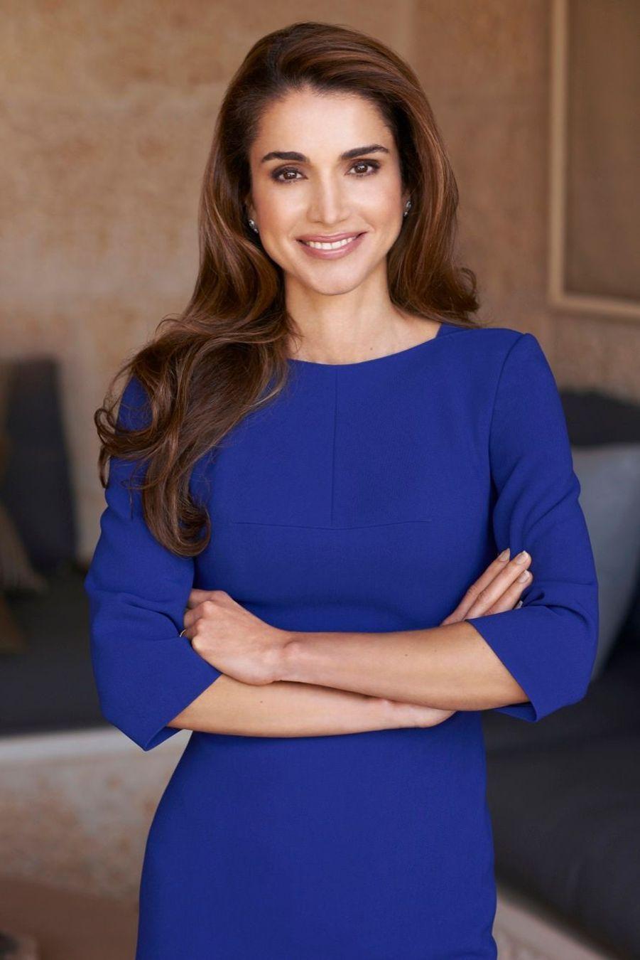 La reine Rania en 2012