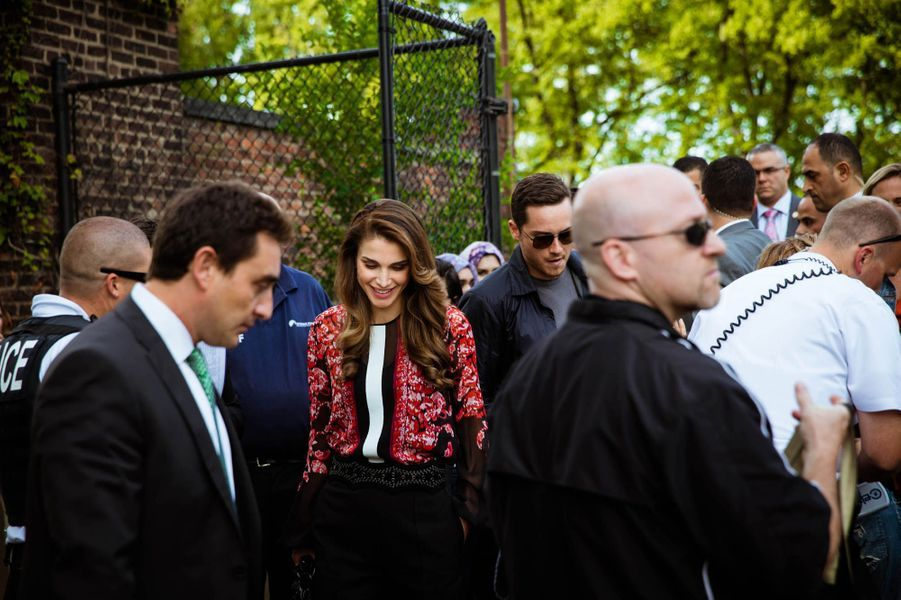 Une reine parmi les stars à New York