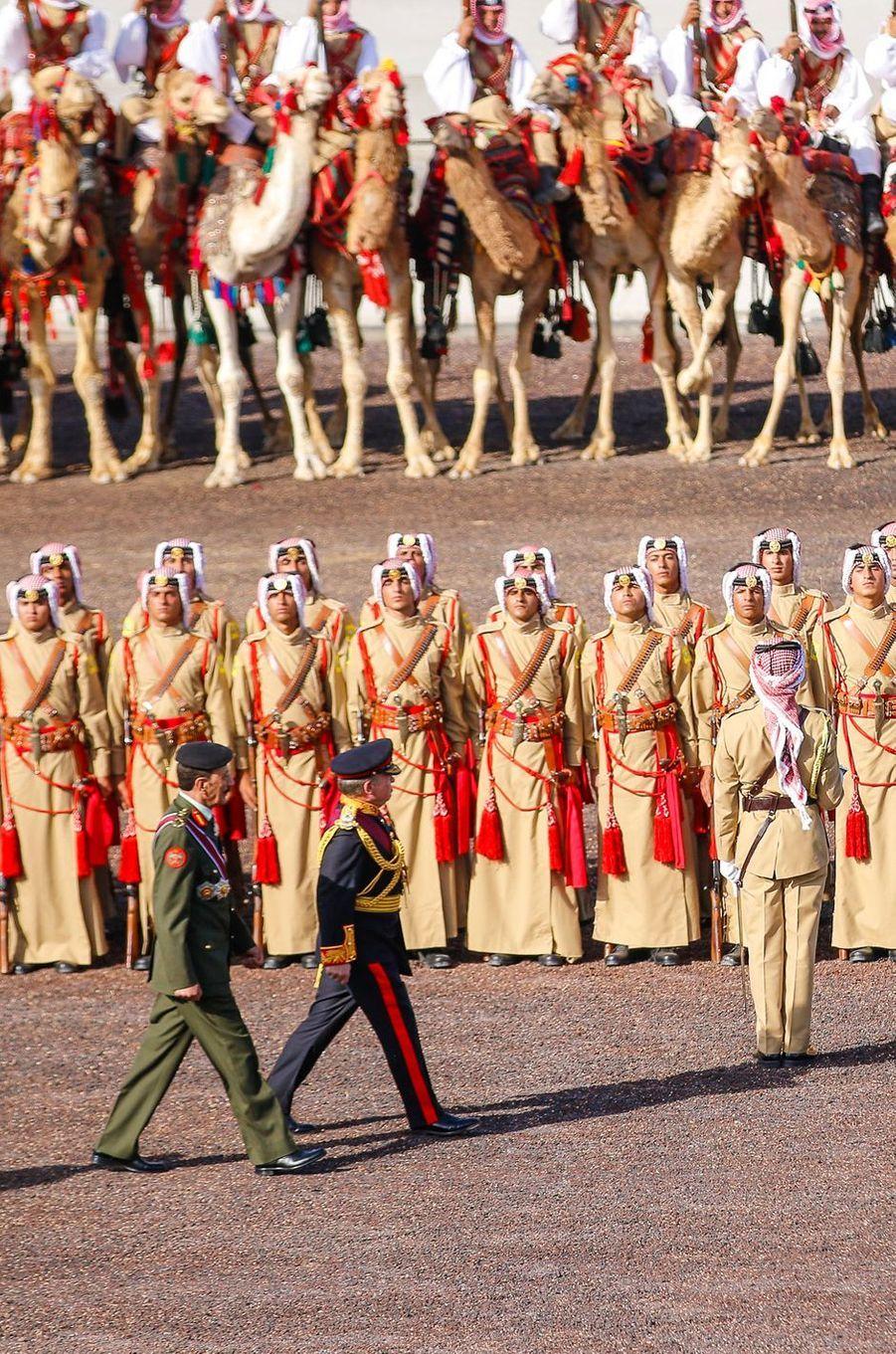 Le roi Abdallah II de Jordanie à Amman, le 2 juin 2016