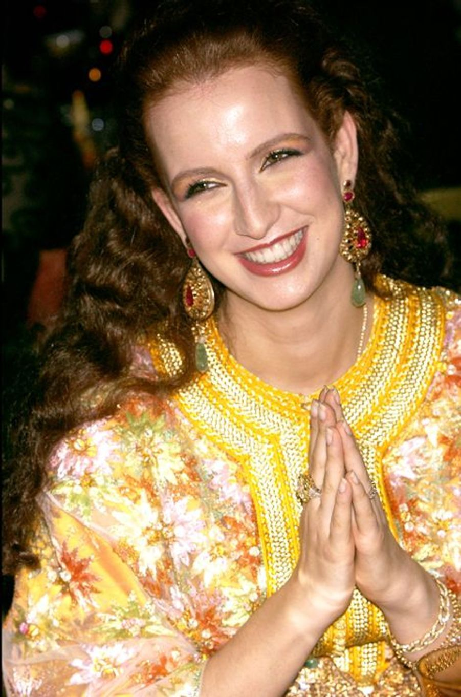 La princesse Lalla Salma du Maroc au château de Versailles, le 8 décembre 2003