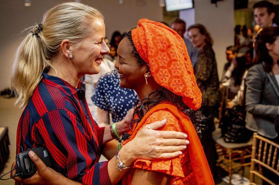 La princesse Mabel des Pays-Bas à New York, le 26 septembre 2018