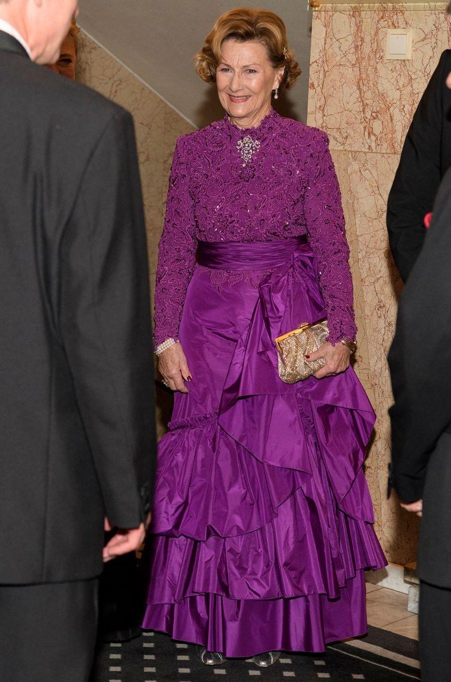 La reine Sonja de Norvège, le 10 décembre 2016