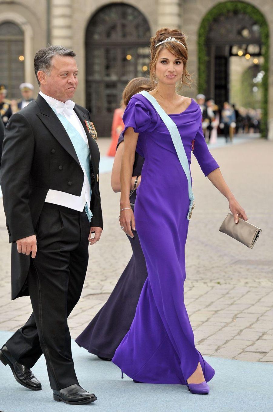 La reine Rania de Jordanie, le 19 juin 2010