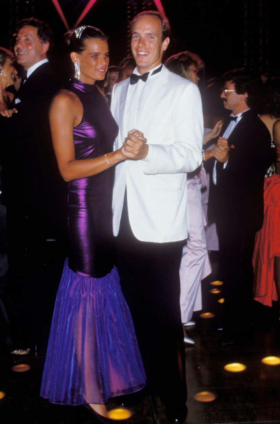 La princesse Stéphanie de Monaco, le 7 août 1987