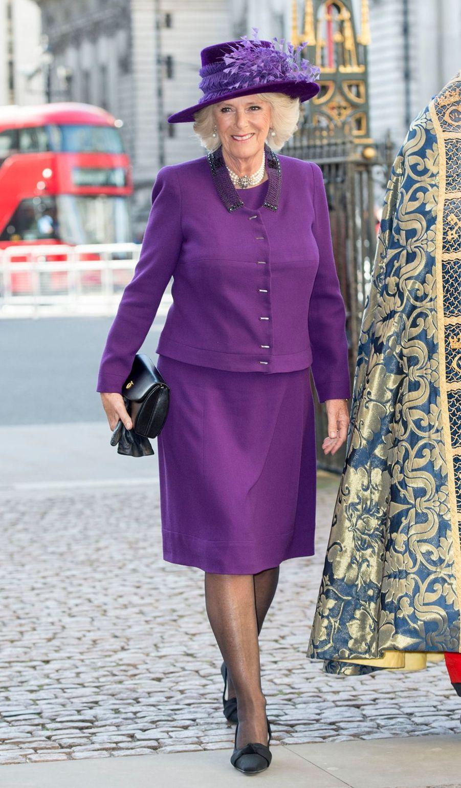 La duchesse de Cornouailles Camilla, le 13 mars 2017