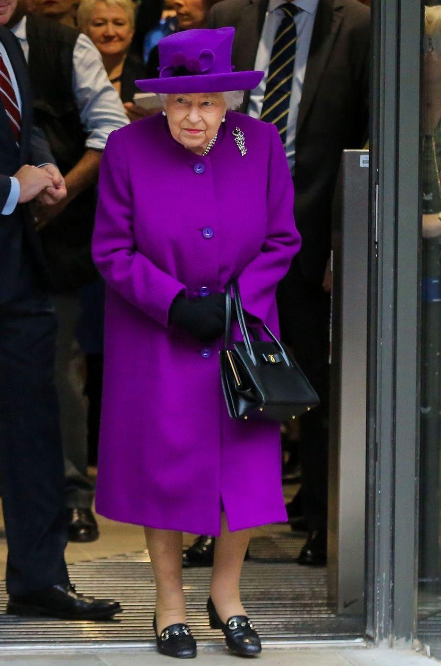 La reine Elizabeth II, le 19 février 2020