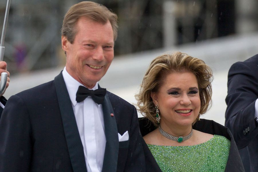 La grande-duchesse Maria Teresa et le grand-duc Henri de Luxembourg, le 10 mai 2017