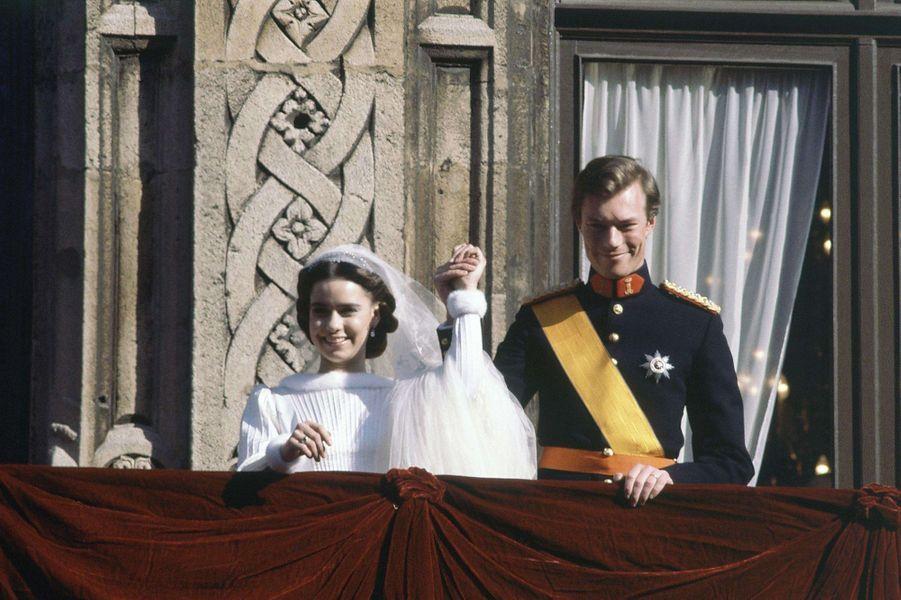 Le prince Henri de Luxembourg épouse Maria Teresa Mestre Batista le 14 février 1981