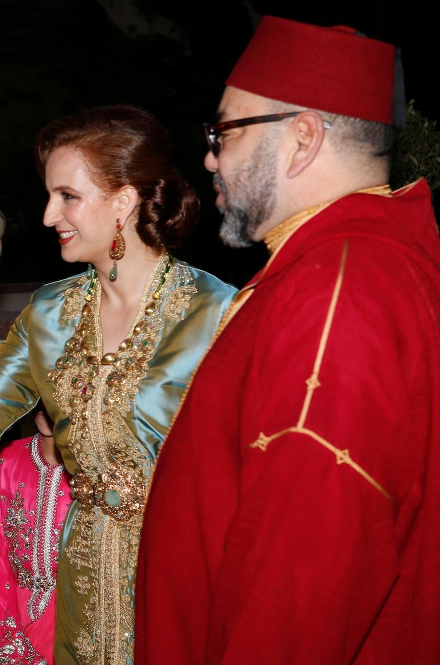 La princesse Lalla Salma et le roi Mohammed VI du Maroc le 4 juin 2017