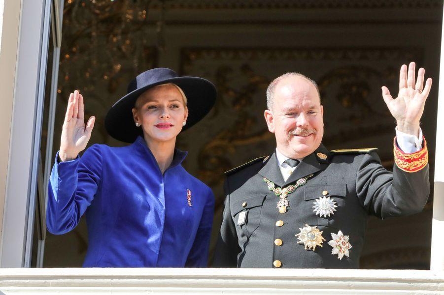 La princesse Charlène et le prince Albert II le 19 novembre 2017