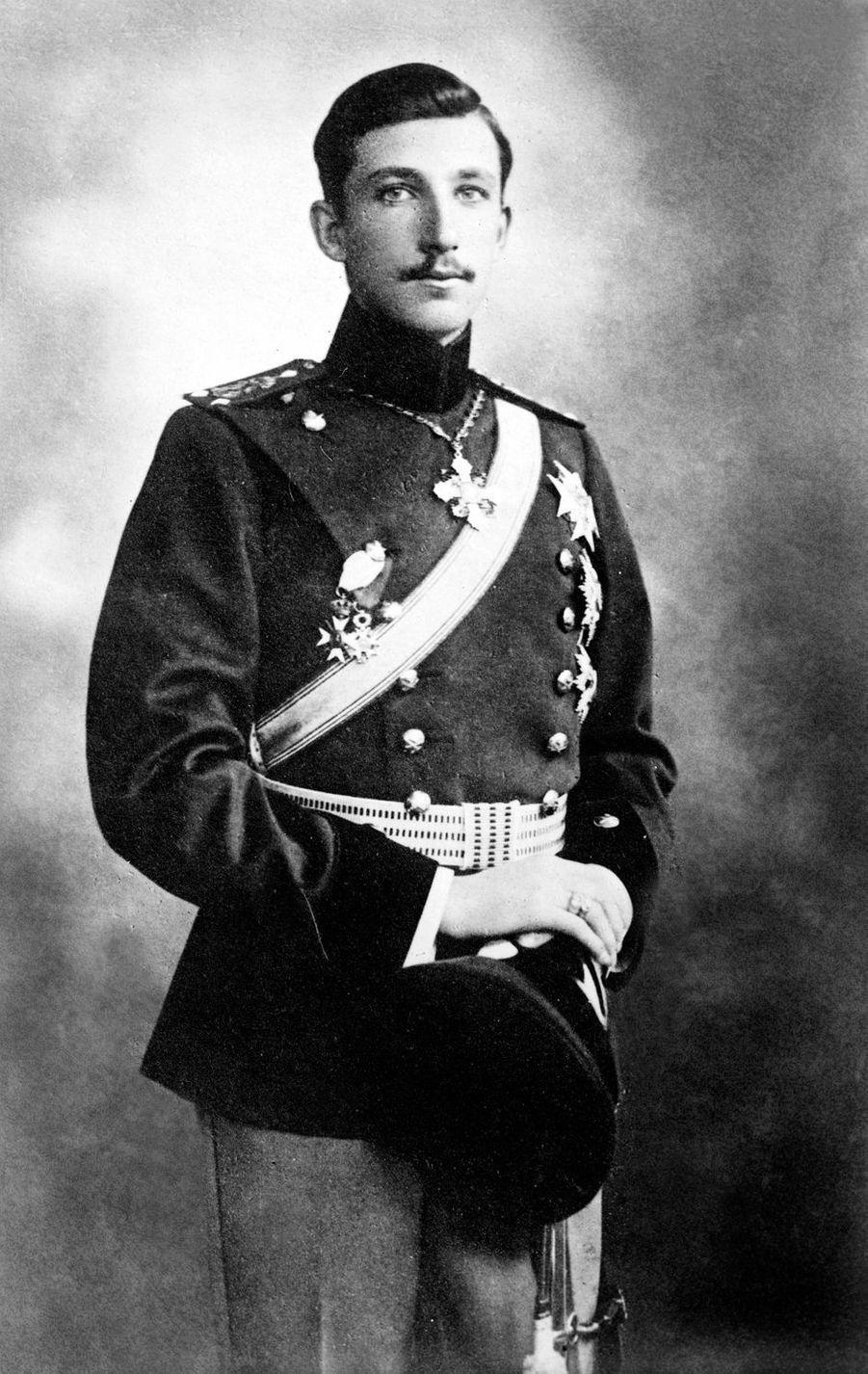 Le roi des Bulgares Boris III (ici vers 1920) régna de 1918 à 1943
