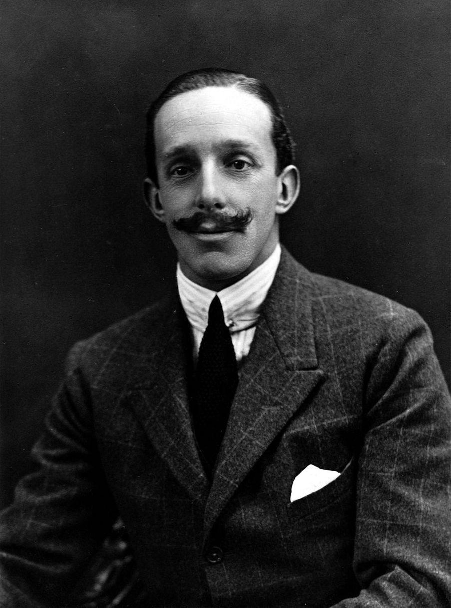 Le roi Alfonso XIII d'Espagne(ici vers 1920) régna de 1886 à 1931