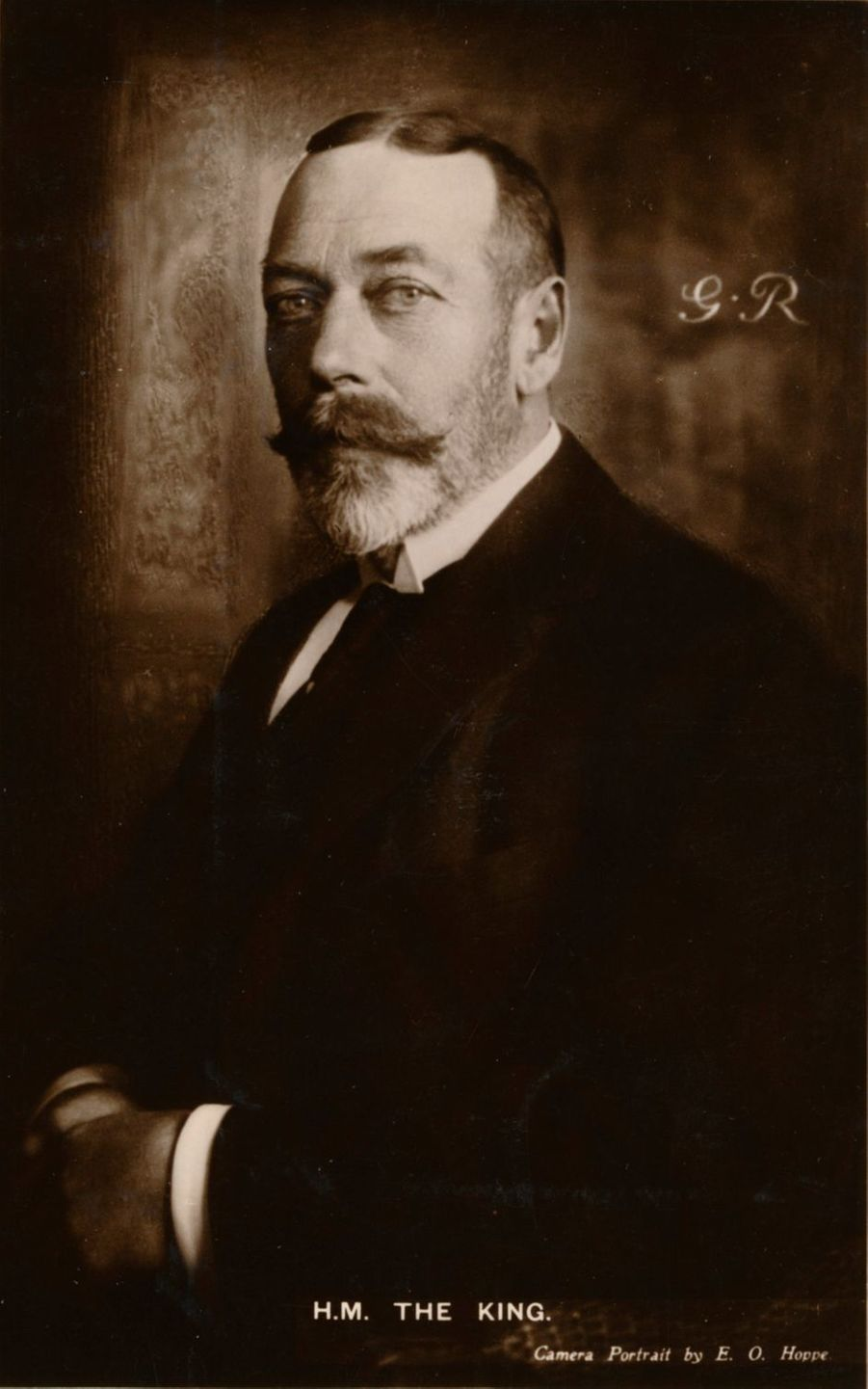 Le roi George V du Royaume-Uni (ici en 1921) régna de 1910 à 1936