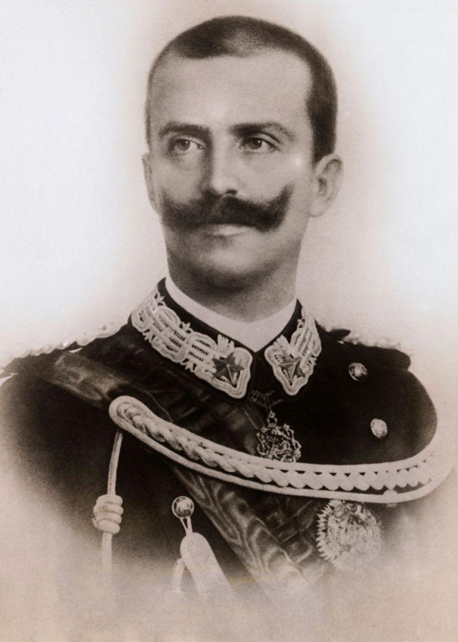 Le roi Victor Emmanuel III d'Italie (ici en 1926) régna de 1900 à 1946