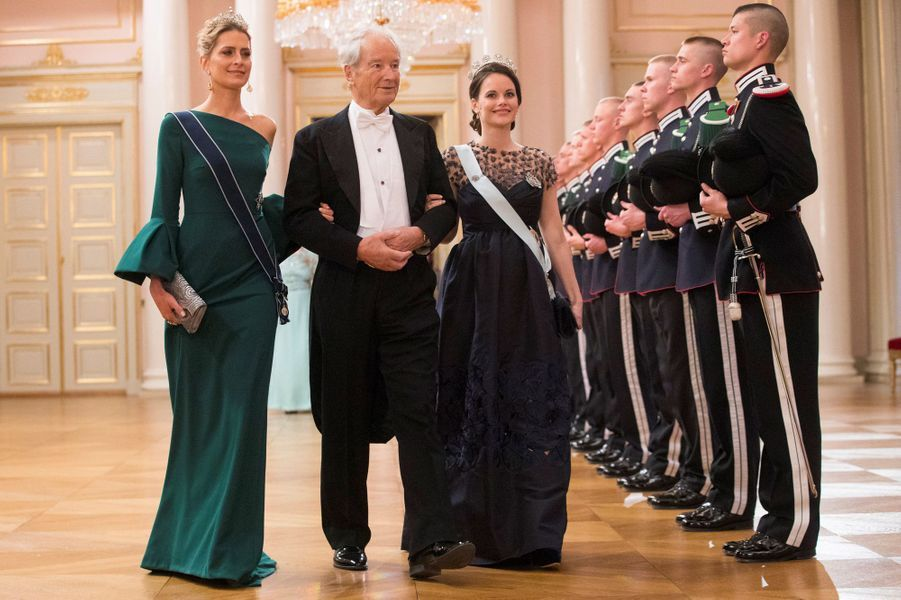 Les princesses Tatiana de Grèce et Sofia de Suède à Oslo le 9 mai 2017