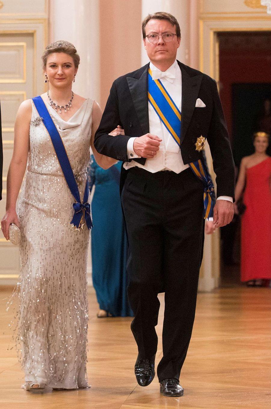 La princesse Stéphanie de Luxembourg à Oslo le 9 mai 2017