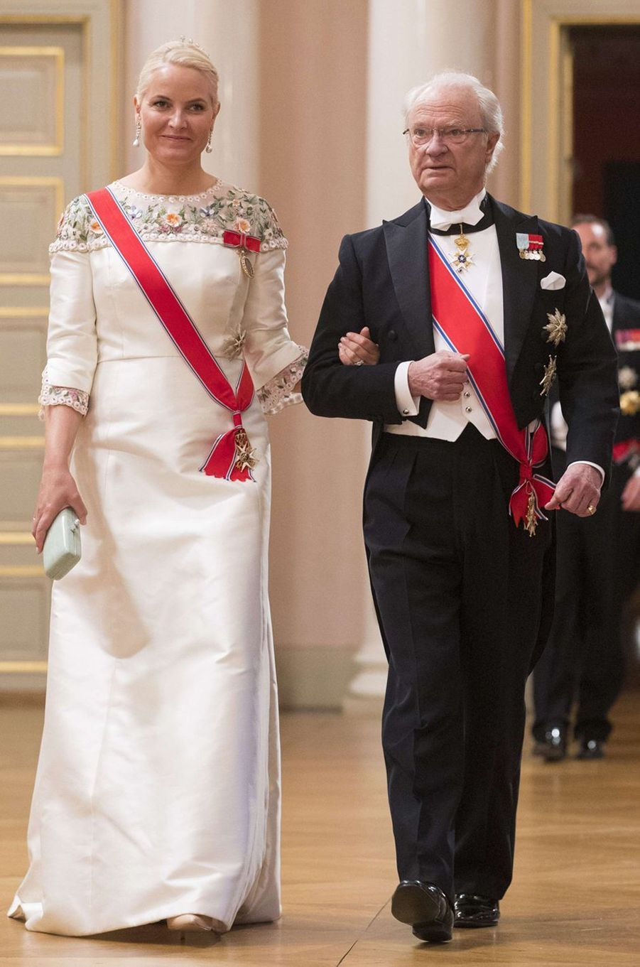 La princesse Mette-Marit de Norvège à Oslo le 9 mai 2017