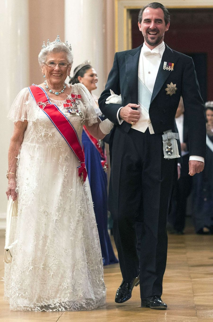 La princesse Astrid de Norvège à Oslo le 9 mai 2017
