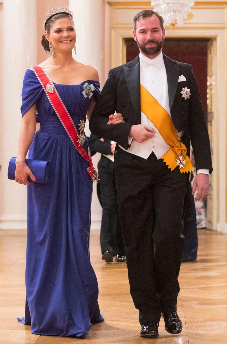 La princesse Victoria de Suède à Oslo le 9 mai 2017