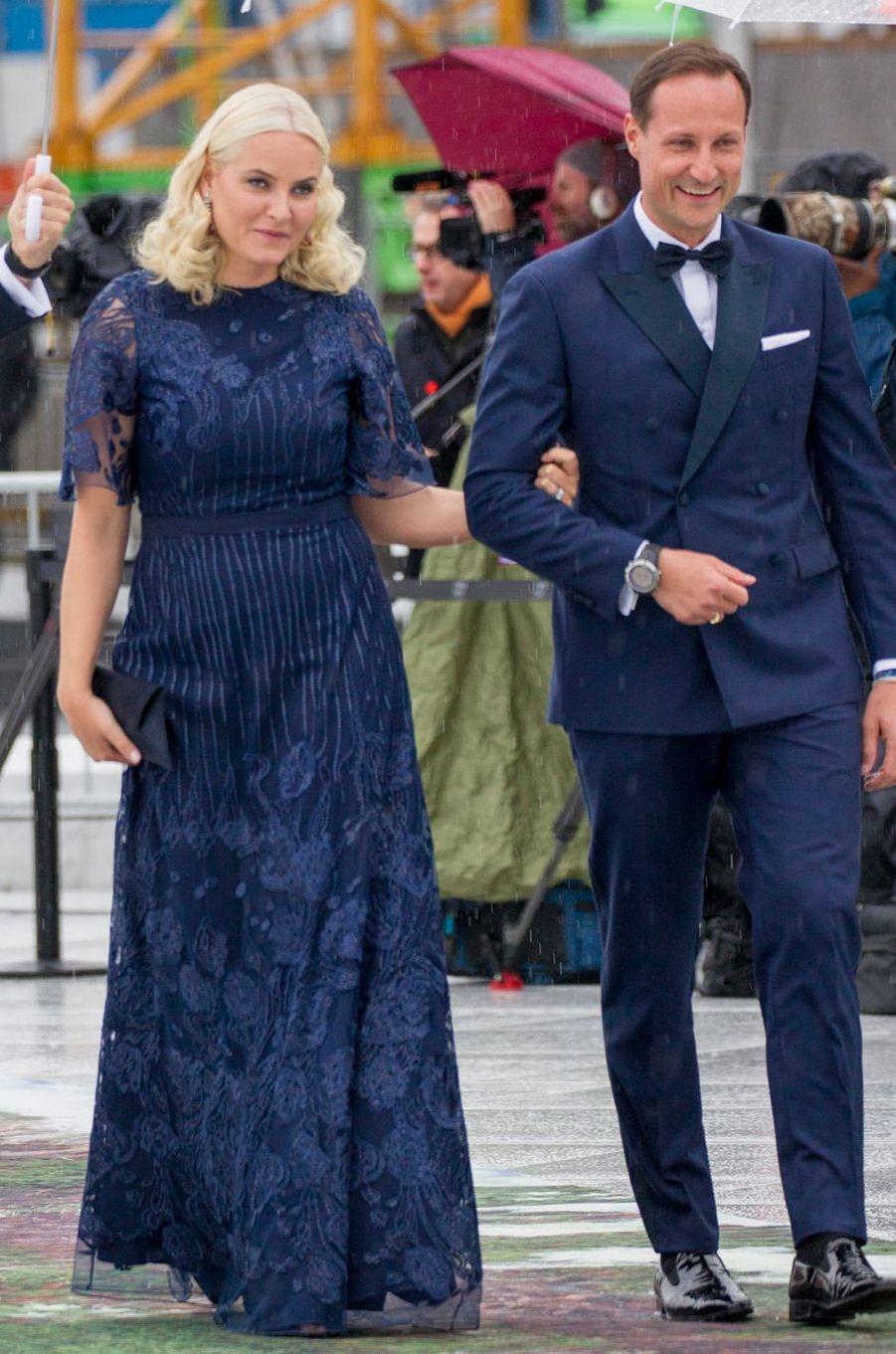 La princesse Mette-Marit de Norvège à Oslo le 10 mai 2017