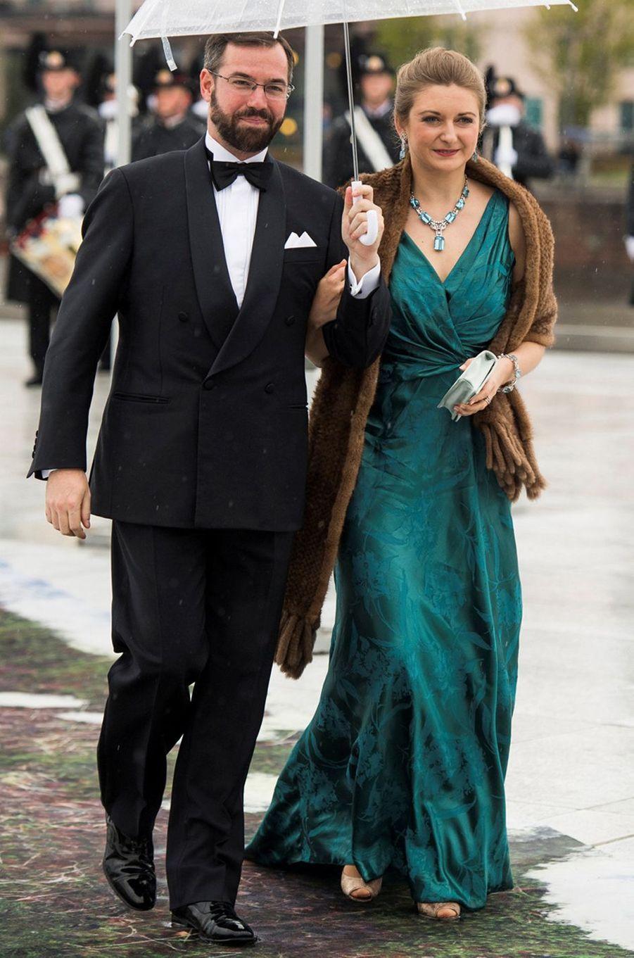La princesse Stéphanie de Luxembourg à Oslo le 10 mai 2017