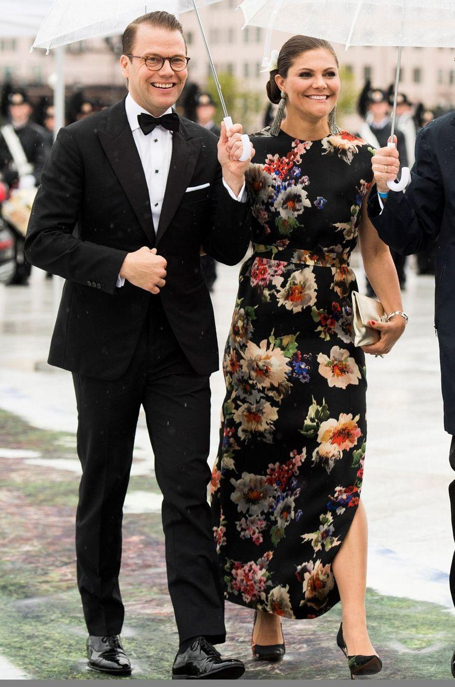 La princesse Victoria de Suède à Oslo le 10 mai 2017
